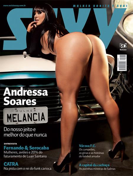 Andressa Soares revista Sexy