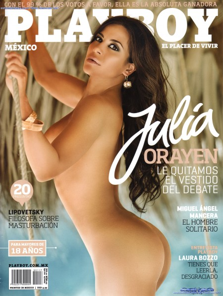 Julia Orayen Playboy 2012