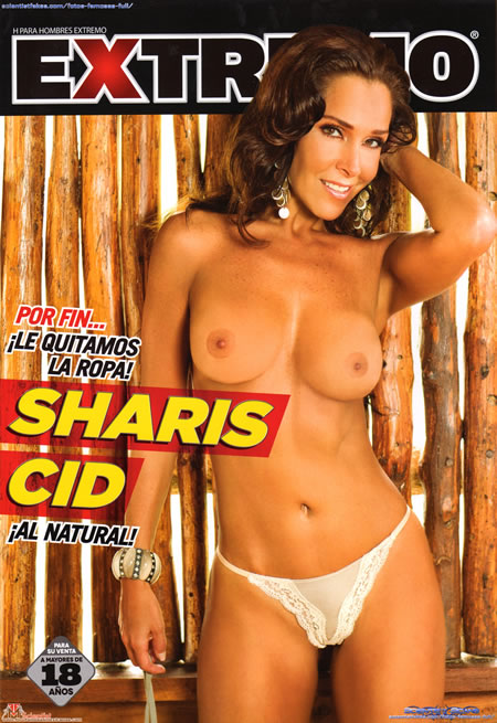 Sharis Cid desnuda Revista H Extremo Noviembre 2012