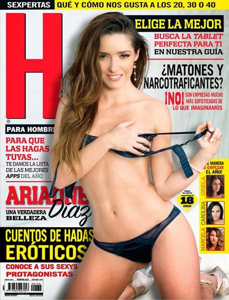 Ariadne Diaz Revista H - enero 2014