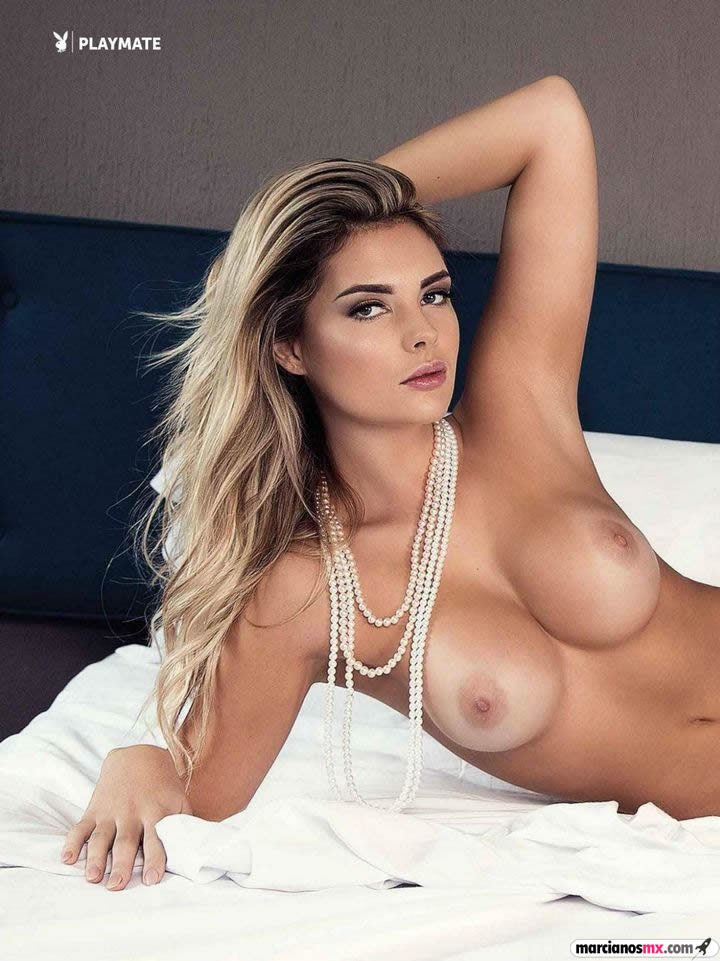 Sarah Louise Harris Playboy desnuda 2015 (1)