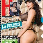 """Nidia García la """"Polisex"""" revista H"""
